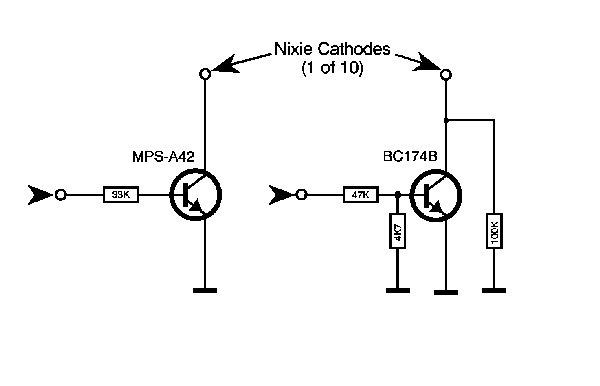 my nixie tube mini tester