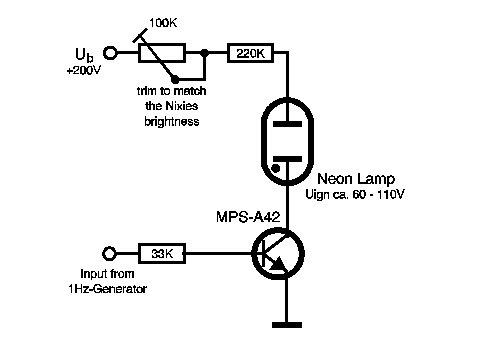 neon lamp diagram